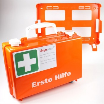 Erste Hilfe Koffer kingsmed® klein und Füllung DIN 13157