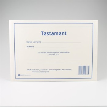 Formular Set Testament