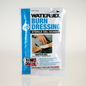 Water Jel Gelkompresse Burn Dressing 10 x 10 cm